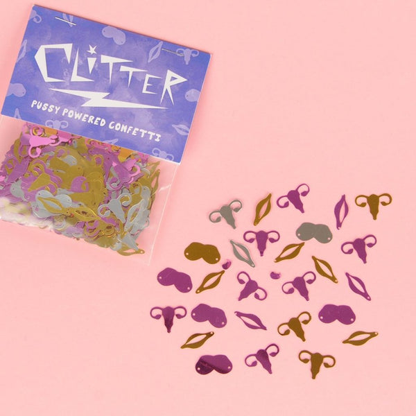 Clitter - Pussy Powered Confetti