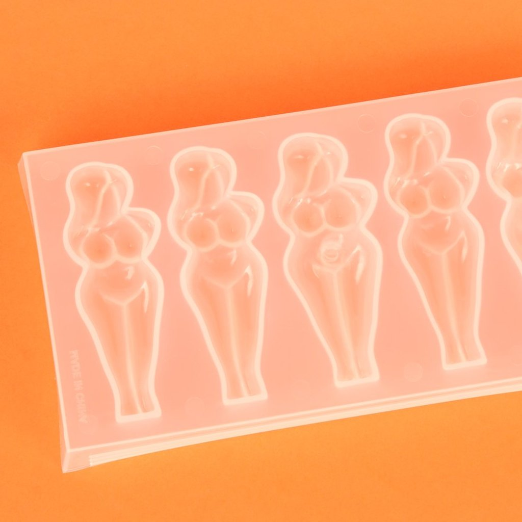 Naked Lady Ice Tray (makes 5 icey ladies)
