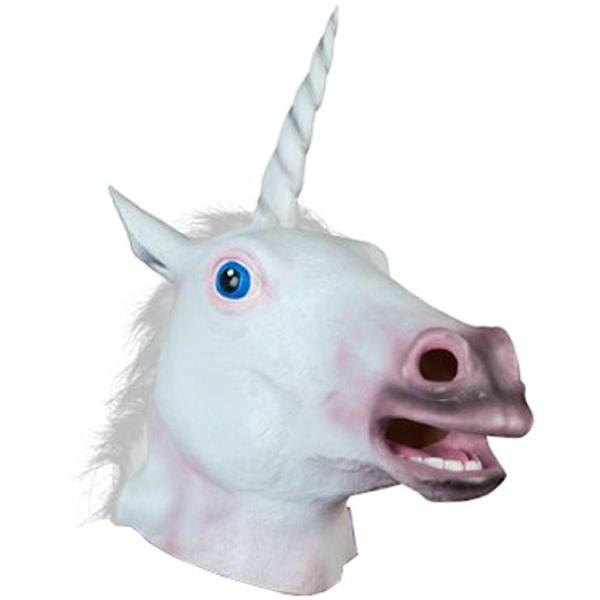 unicorn head mask no human