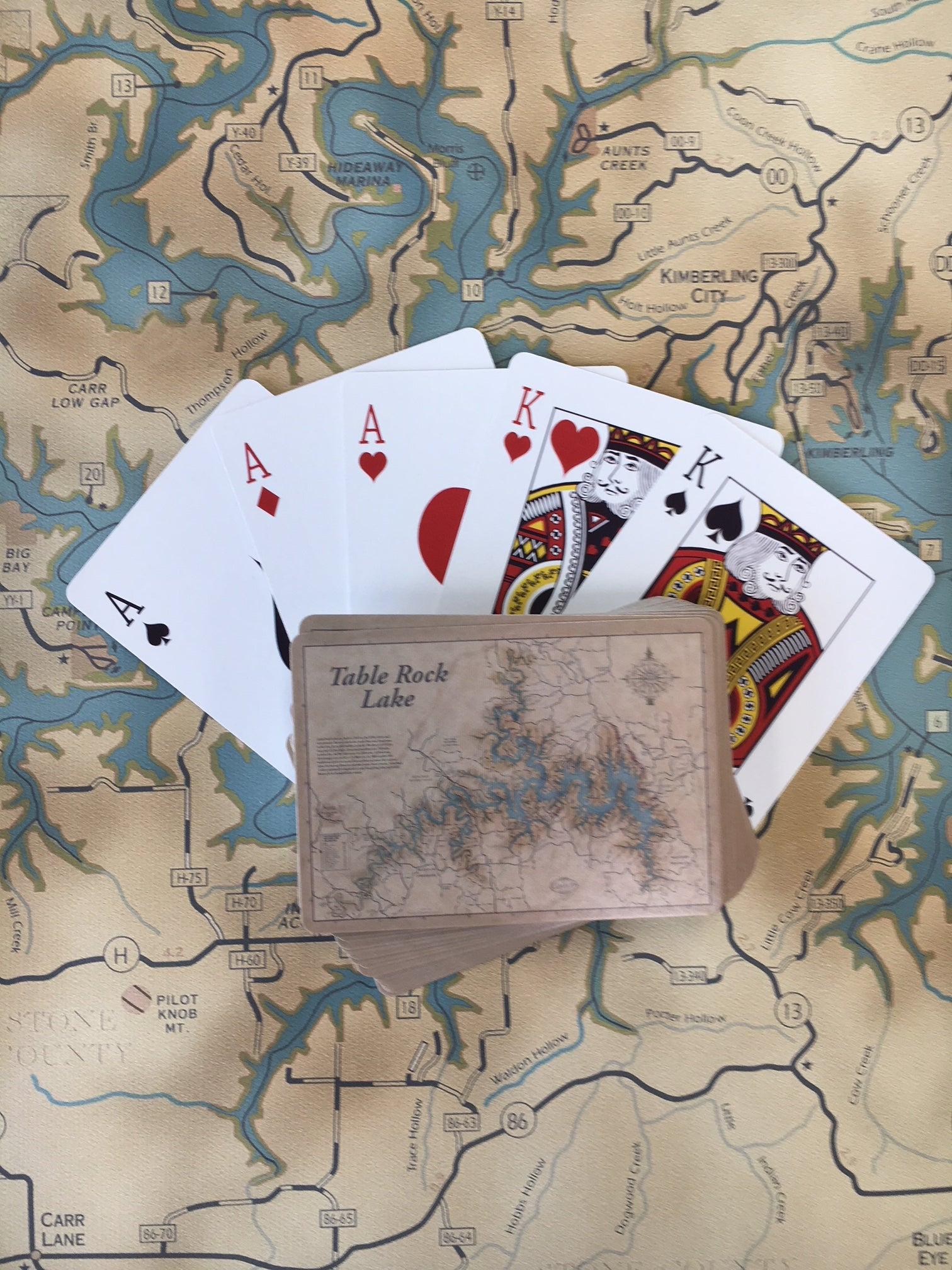 Table Rock Lake Playing Cards