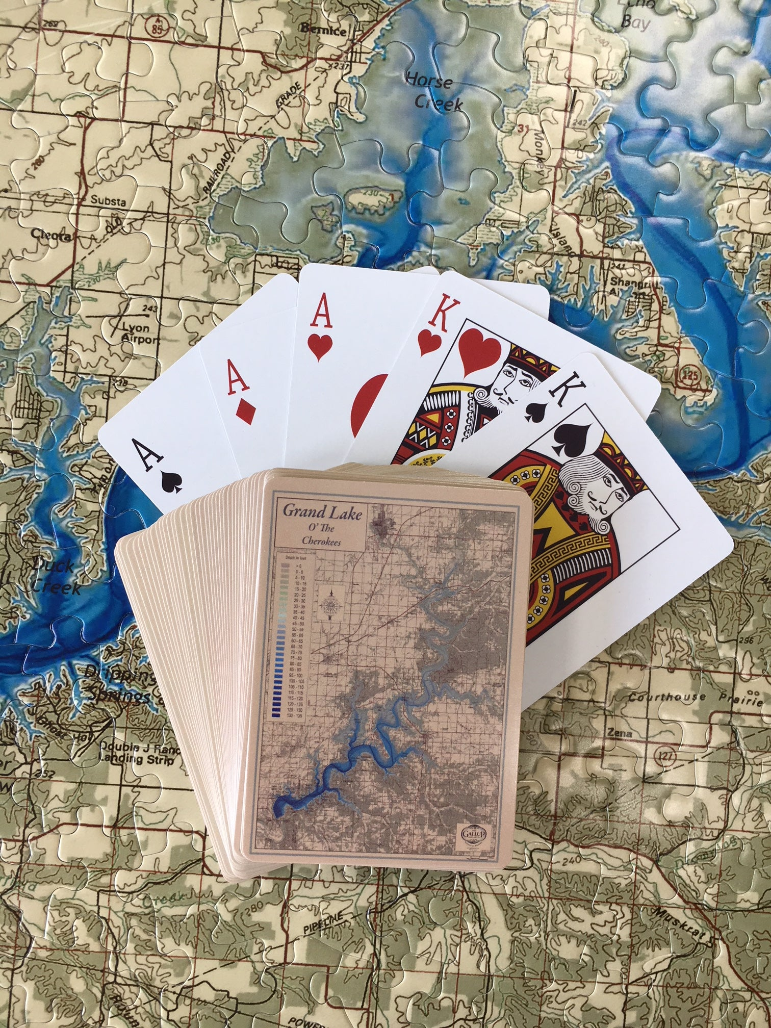 Grand Lake Playing Cards