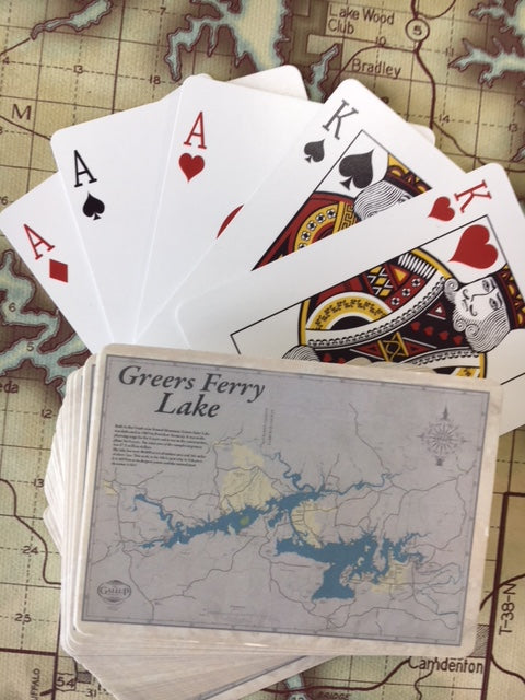 Greers Ferry Lake Playing Cards