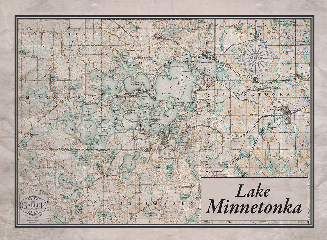Lake Minnetonka Playing Cards