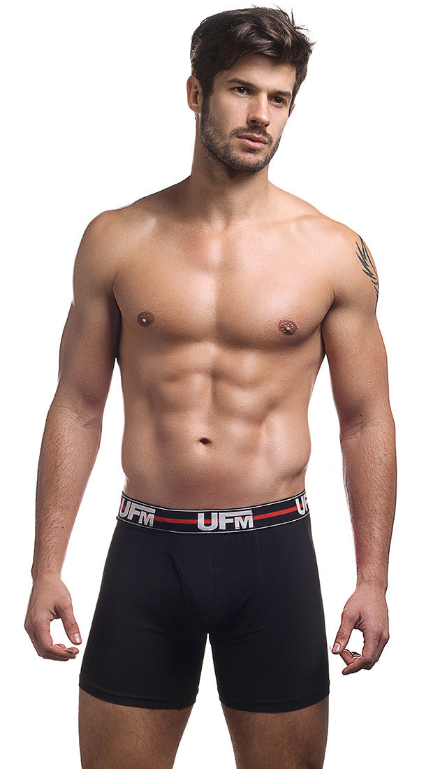 Black Boxer Briefs 6 Inch –UFM Underwear Work 1st Gen