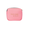 BAJA BAE + SLAY WATERPROOF MAKEUP POUCH.