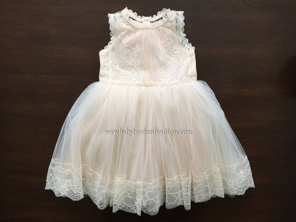 French Summer Baptism Dress