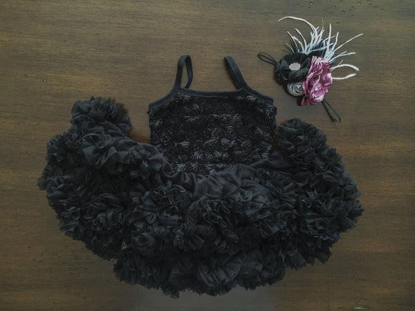Baby Black Petti Dress