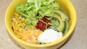 Sue's Burrito Bowls (Gluten Free & Packed with Protein)
