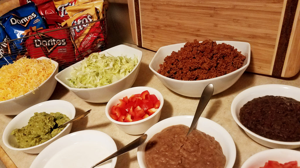 Walking Taco Toppings