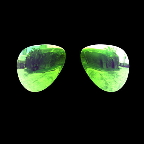 VEKTOR - Polarized Lenses - Green Mirror