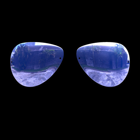 VLUX - Polarized Lenses - Blue Mirror
