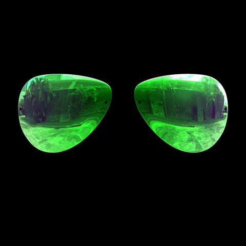 VLUX - Polarized Lenses - Green Mirror