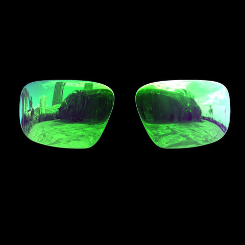 VX - Polarized Lenses - Green Mirror