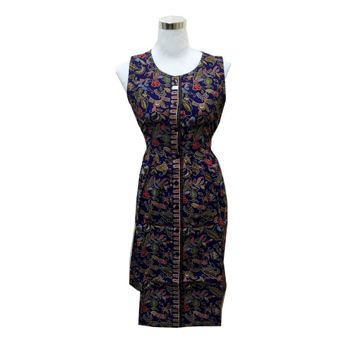 Singapore Batik SIA Women Sleeveless Dress