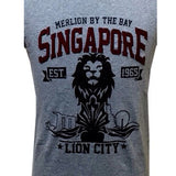 Singapore Day Sky Lion Tees