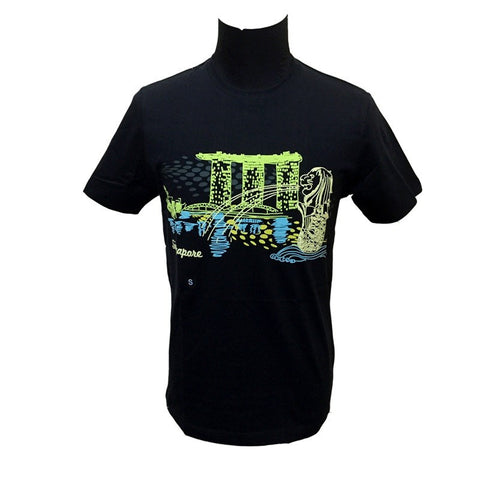 Singapore Marina Bay Glow-In-The-Dark Tees
