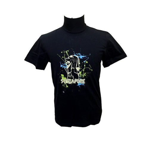 Singapore Merlion Glow-In-The-Dark Tees