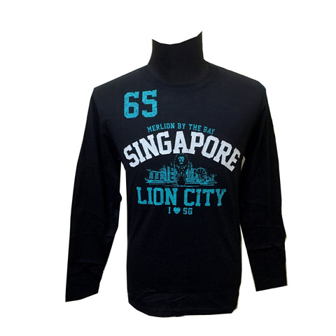Singapore Lion City Long Sleeve Tees