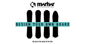 Lots of love on the Design Your Own Snowboard