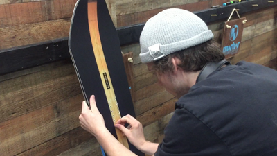 Play Hard-Work Hard. Employee Perk: Building their own boards