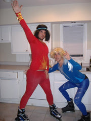 Nathan and Josh as blades of Glory 2008