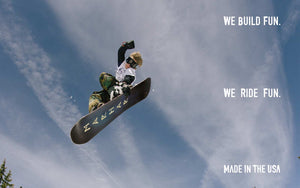 marhar customs snowboards made in the USA we build fun photo