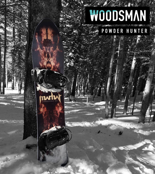 marhar woodsman powder backcountry snowboard
