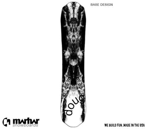 DYOB LUMBERJACK All Terrain Powder Freestyle Custom Design Snowboard