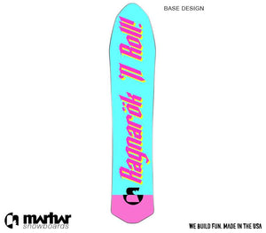 DYOB WOODSMAN Backcountry Powder Custom Design Snowboard