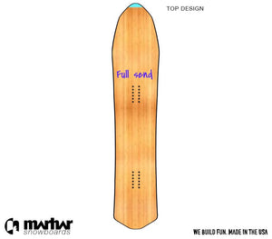 DYOB WOODSMAN </br> Backcountry Powder Custom Design Snowboard