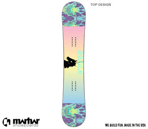 DYOB JADE Womens Custom Design Snowboard