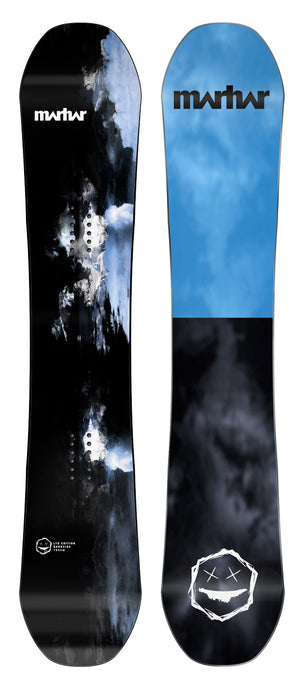 Marhar Snowboards limited edition darkside camber