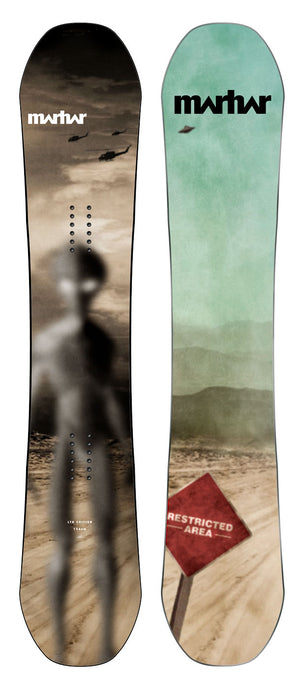 Marhar limited edition Area 51 snowboard