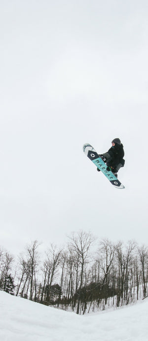 marhar darkside snowboard send it photo
