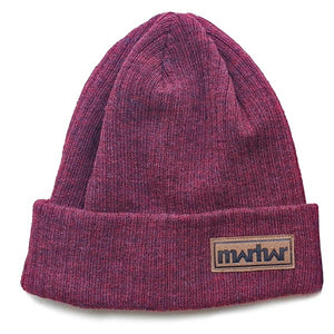 marhar apparel winter maroon beanie