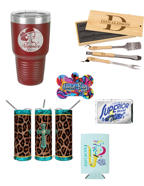 Personalized Items (Sublimation & Vinyl)