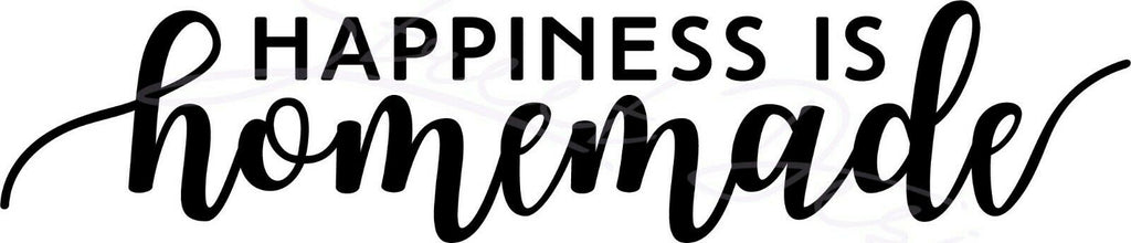 Happiness Is Handmade - Vinyl Decal Free Shipping #1504