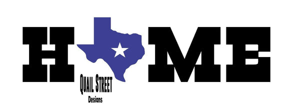 Texas Home - Vinyl Decal Free Shipping #921