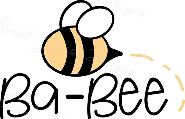 BaBee - Baby Bumble Bee Infant Newborn - Vinyl Decal Free Shipping #1469
