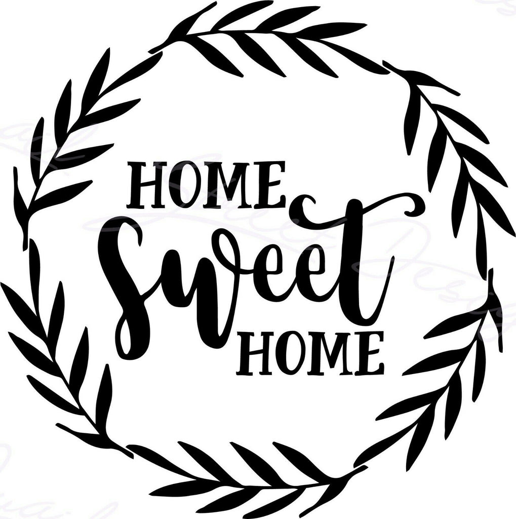 Home Sweet Home - Vinyl Decal Free Shipping #1507