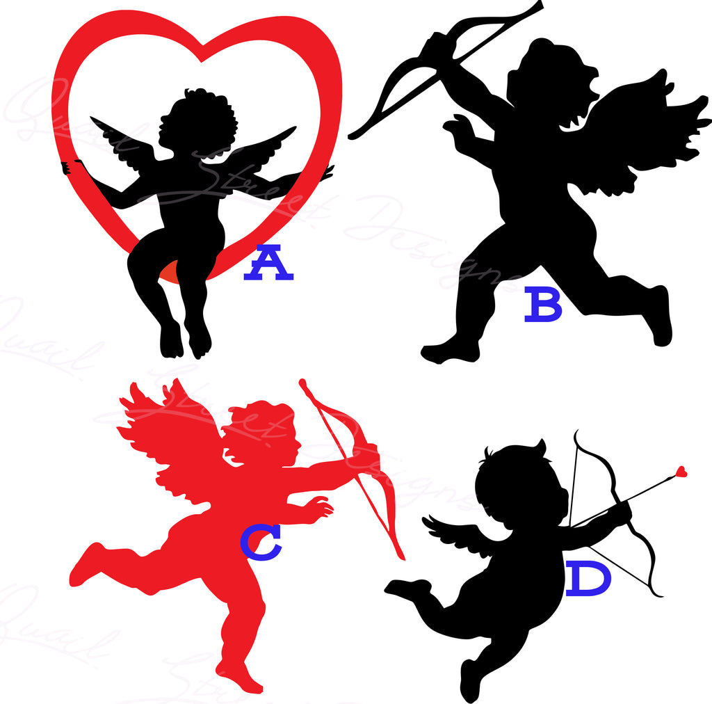 Cupid - 4 View To Choose From - Vinyl Decal Free Shipping #802