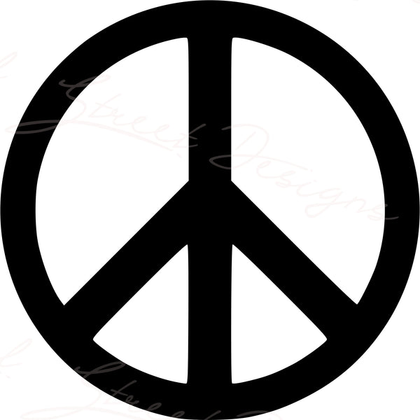 Peace Sign - Vinyl Decal Free Shipping  #718
