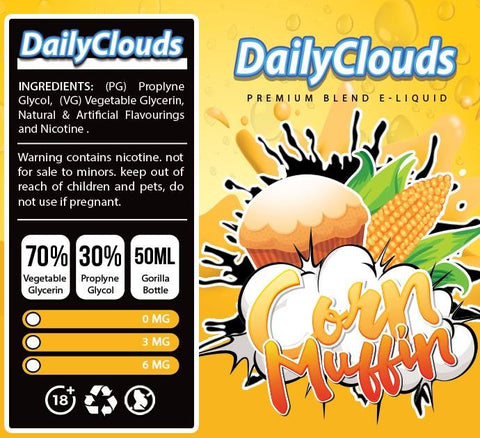 Daily Clouds - Corn Muffin [50ml]