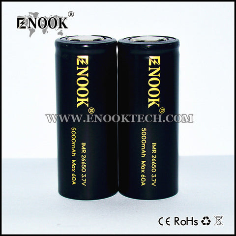 Enook 26650 5500mAh 65A Battery