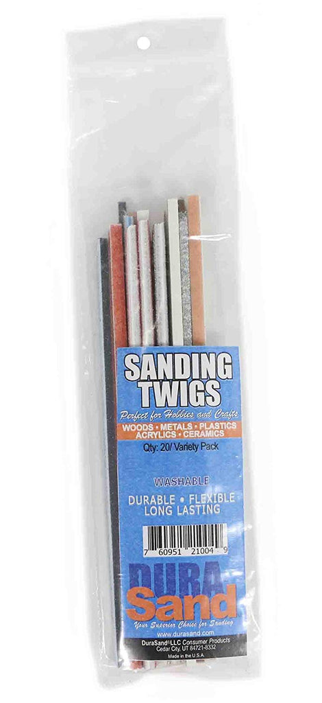 DuraSand Sanding Twigs, Hobby Craft and Models Detailed Hand Sander