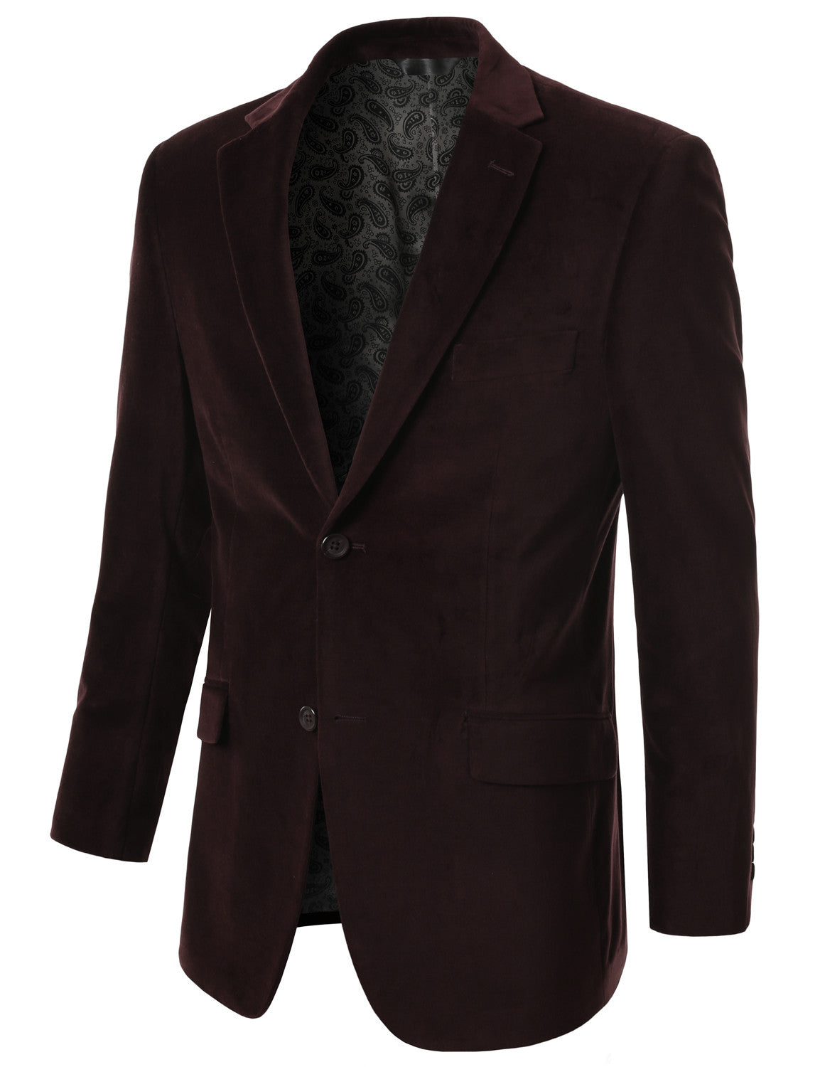 08BROWN Cotton Velvet Sport Blazer
