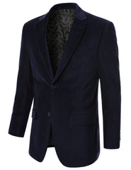 19BLUE Cotton Velvet Sport Blazer