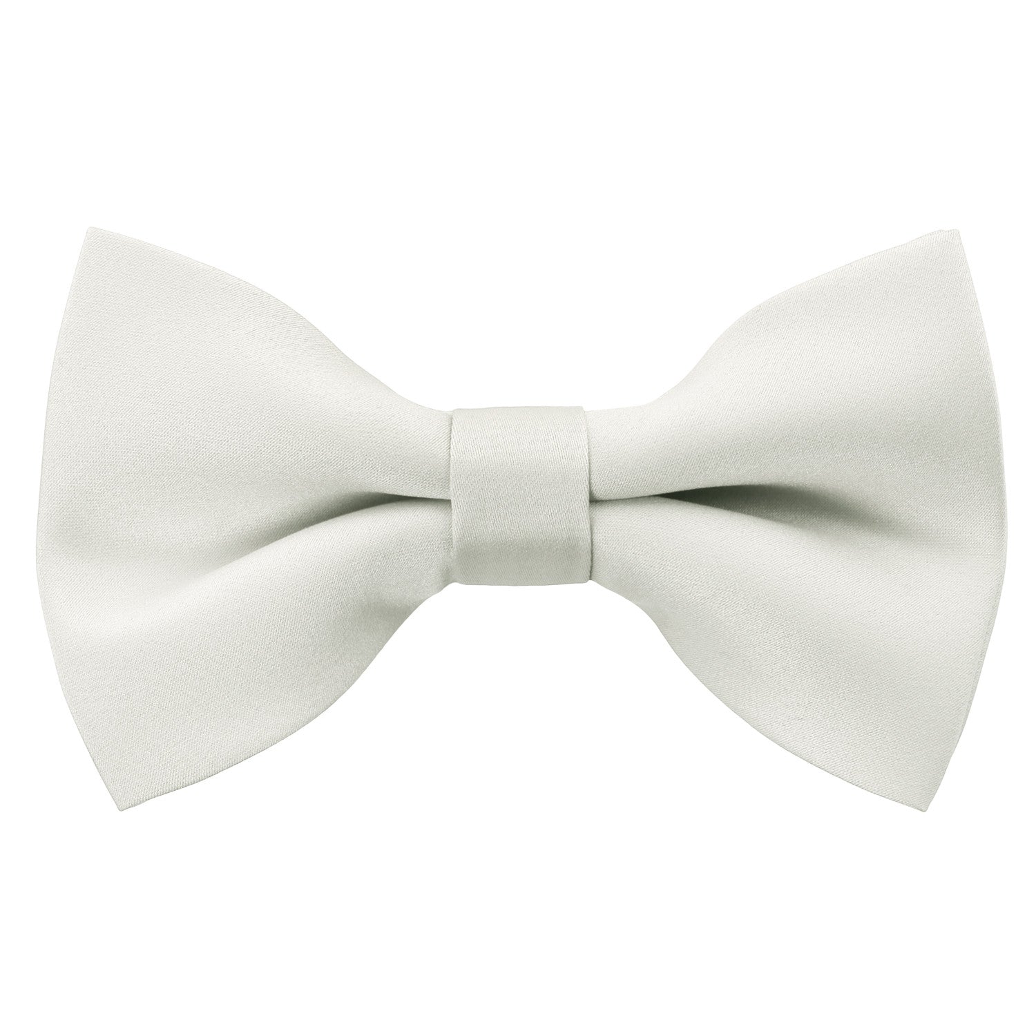 WHITE Bow Tie and Handkerchief Set- MONDAYSUIT