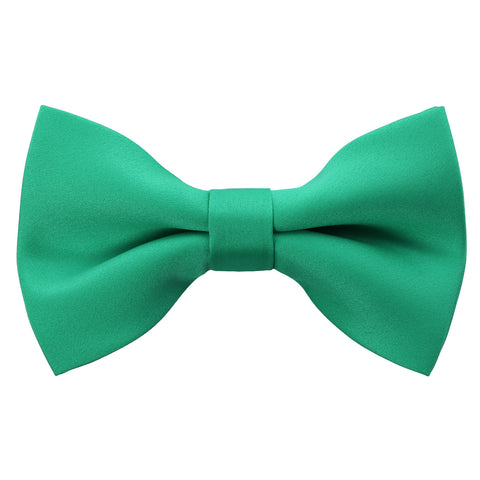 Emerald Bow Tie and Handkerchief Set