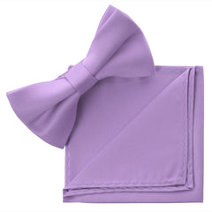 LAVENDER Bow Tie and Handkerchief Set- MONDAYSUIT